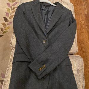 Marc Jacobs Grey Flannel Blazer